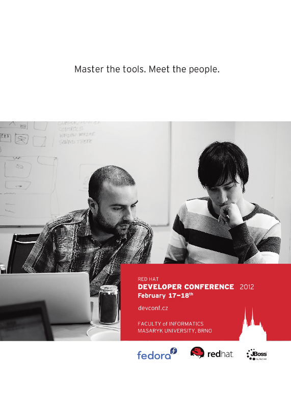 The Developer Conference 2012 poster
